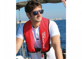 Life Jacket CLASSIC 165 / red / 165 N / incl. lifeline