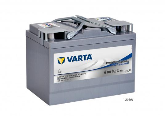 These powerful Deep Cycle AGM batteries have been specially developed for the latest boats with electric motor, yachts and caravans and use AGM technology (Absorbent Glass Mat). (Afbeelding 2 of 8)