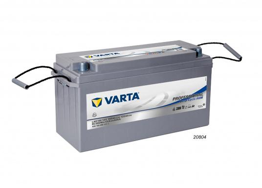 These powerful Deep Cycle AGM batteries have been specially developed for the latest boats with electric motor, yachts and caravans and use AGM technology (Absorbent Glass Mat). (Image 5 of 8)