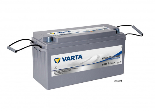 These powerful Deep Cycle AGM batteries have been specially developed for the latest boats with electric motor, yachts and caravans and use AGM technology (Absorbent Glass Mat). (Afbeelding 5 of 8)