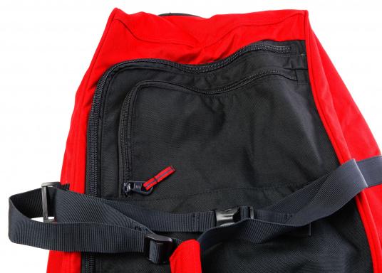 DER Klassiker! Die bewährte Marinepool Rollentasche bietet mit Ihrem Volumen von 110 l Platz für einen ganzen Urlaub. (Bild 7 von 14)
