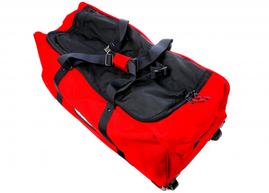 DER Klassiker! Die bewährte Marinepool Rollentasche bietet mit Ihrem Volumen von 110 l Platz für einen ganzen Urlaub. (Bild 6 von 14)
