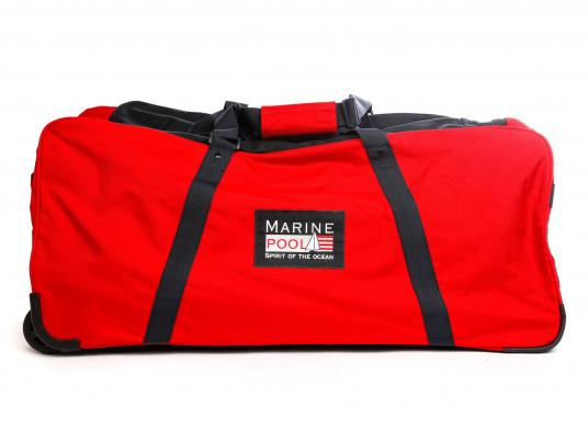 DER Klassiker! Die bewährte Marinepool Rollentasche bietet mit Ihrem Volumen von 110 l Platz für einen ganzen Urlaub.