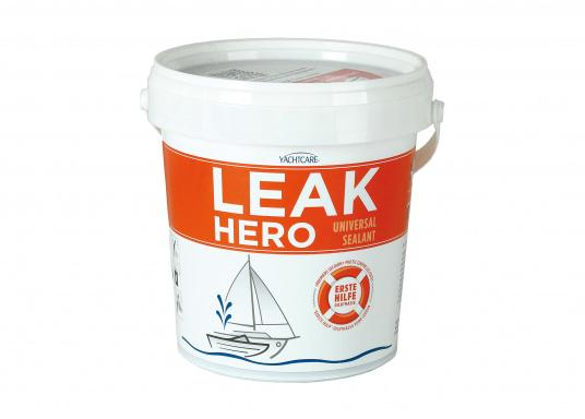 Stops water intrusion in seconds and seals leaks in cases of need. Immediately ready for use on all materials. Also usable under water. (Image 1 of 2)