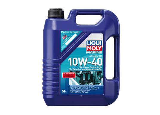 LIQUI MOLY Marine 4T Motor Oil 10W-40 / 5 L only 49,95 € buy now
