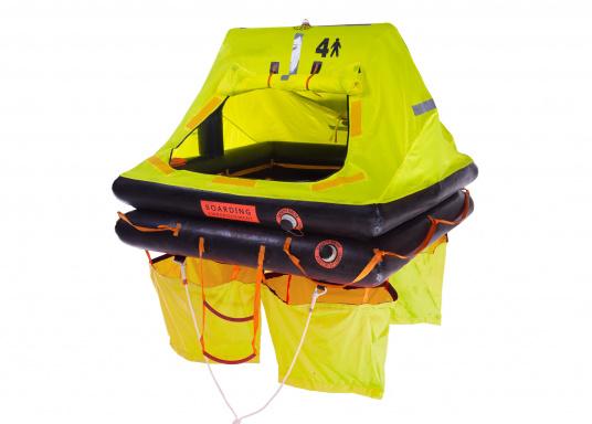 Die SEATEC Rettungsinseln wurden speziell für Offshore-Einsätze entwickelt und in Anlehnung an die Norm ISO 9650 (internationale Norm für die Entwicklung von Rettungsinseln) gefertigt.