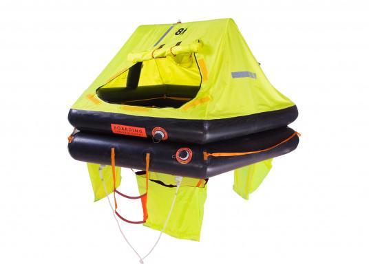 Die SEATEC Rettungsinseln wurden speziell für Offshore-Einsätze entwickelt und in Anlehnung an die Norm ISO 9650 (internationale Norm für die Entwicklung von Rettungsinseln) gefertigt.  (Bild 3 von 10)