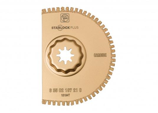 Für perfekte saubere Schnittkanten in CFK-/GFK-Materialien ohne Delamination. Verzugsfreie, lange gerade Schnitte mit hoher Schnittgeschwindigkeit.