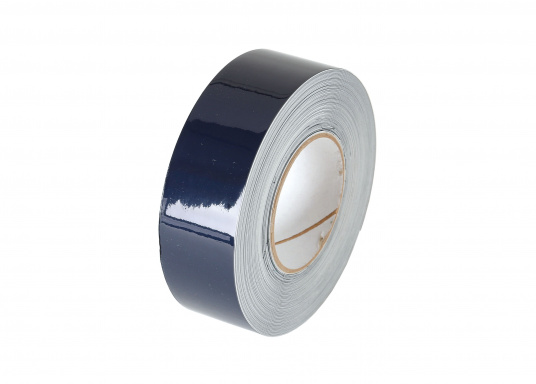 Monochrome, adhesive decorative tape with a width of 25 mm. Roll length: 15 m. Also suitable for the waterline.  (Image 2 of 7)