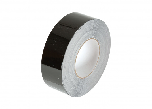 Monochrome, adhesive decorative tape with a width of 25 mm. Roll length: 15 m. Also suitable for the waterline.  (Image 3 of 7)