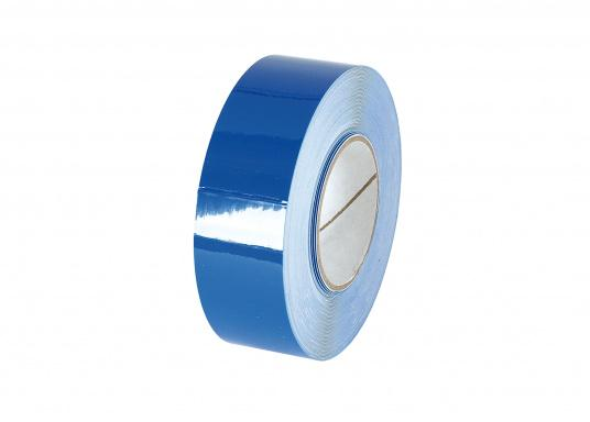 Monochrome, adhesive decorative tape with a width of 25 mm. Roll length: 15 m. Also suitable for the waterline.  (Image 5 of 7)