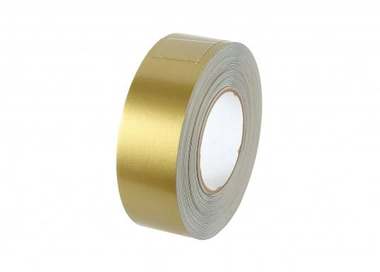 Monochrome, adhesive decorative tape with a width of 25 mm. Roll length: 15 m. Also suitable for the waterline.  (Image 7 of 7)