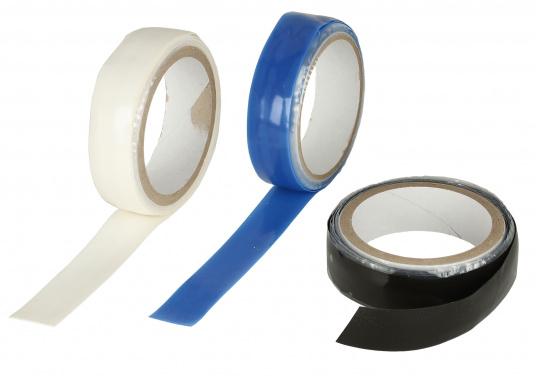 Silikon Notfall-Tape zum Abdichten von Rohren und Schläuchen auch unter extremen Bedingungen, z.B. einsetzbar von -50 °C bis +100°C, sowie für Unterwasserreparaturen. Es ist öl-, druck-, salzwasser und UV-beständig. Breite: 25 mm. Rollenlänge: 3 m.