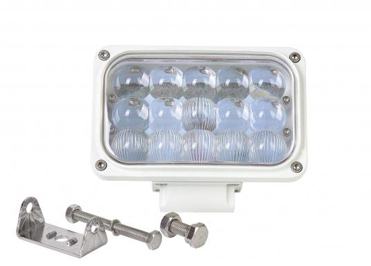 Dieser äußerst robuste, langlebige 45 W LED Deckscheinwerfer besticht mit einer Lichtleistung von 4050 Lumen, Lichtfarbe: 4200 Kelvin. (Bild 5 von 5)