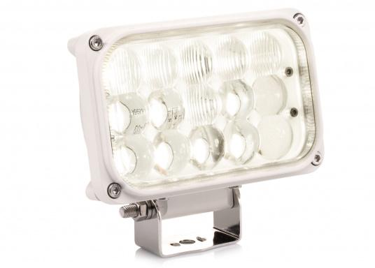Dieser äußerst robuste, langlebige 45 W LED Deckscheinwerfer besticht mit einer Lichtleistung von 4050 Lumen, Lichtfarbe: 4200 Kelvin. (Bild 6 von 6)