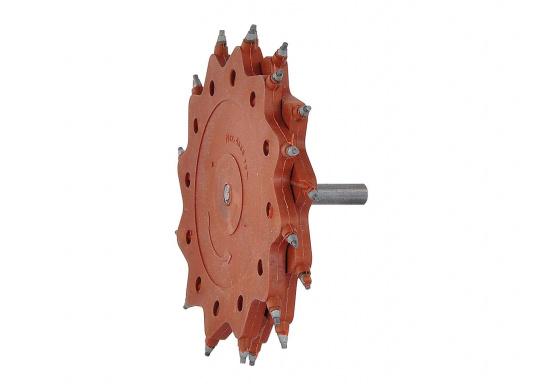 Die Tercoo®-Scheiben sind hervorragend geeignet zum Entfernen von Farbresten, Primern, Epoxy, Rost, Teer etc. auf Metalloberflächen, Stahl und Beton.