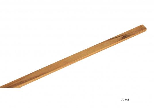 Do it yourself! Gräting-Profile aus hochwertigem Teak-Holz zum selber zusammen bauen. Jeweils einzelne Komponenten sind stückweise erhältlich. Länge jeweils 122 cm. (Bild 4 von 5)
