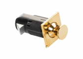 Press Snapper Push-Lock/ brass, square