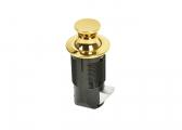 Press Snapper Push-Lock/ brass, round