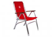 Image of Deck Chair Type 150, red