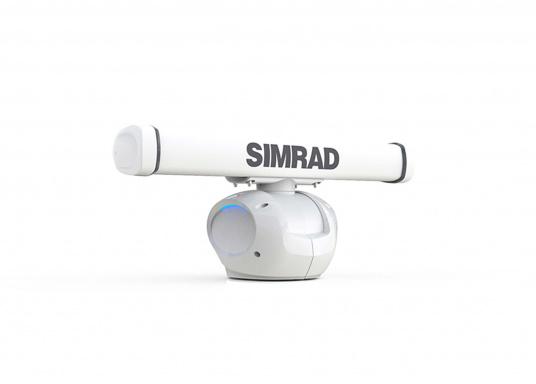 Das Halo™ Radar kombiniert die besten Merkmale der traditionellen Puls- und Breitband-FMCW-Radarsysteme und nutzt die Pulse-Compression-Technologie, um eine beispiellose Mischung aus langer und kurzer Erfassungsreichweite, hoher Zieldefinition und minimalen Störzeichen zu bieten.