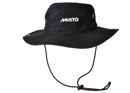 Der ideale Hut für sonnige Tage an Bord! Er besticht durch eine gute Passform, lässt sich an den Seiten hochklappen und schützt auch ihren Nacken vor Sonneneinstrahlung.