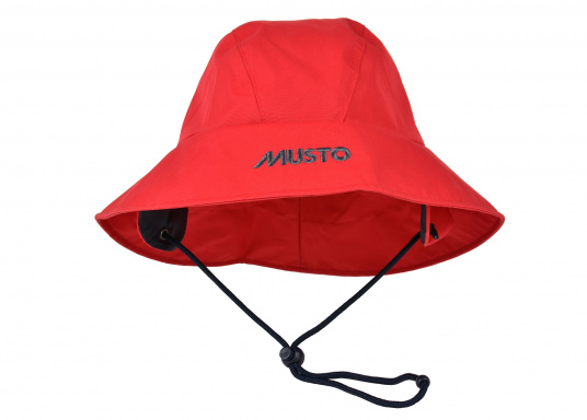 Südwester in hervorragender, atmungsaktiver Qualität. In der Farbe Rot. Material: 100% Nylon. Größen: S-L.