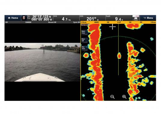 Raymarine Radarantenne QUANTUM, by FLIR, ist die nächste Generation von Marine-Radarantennen mit CHIRP Technologie. Lieferung inklusive 10 m Stromkabel.  (Bild 7 von 9)