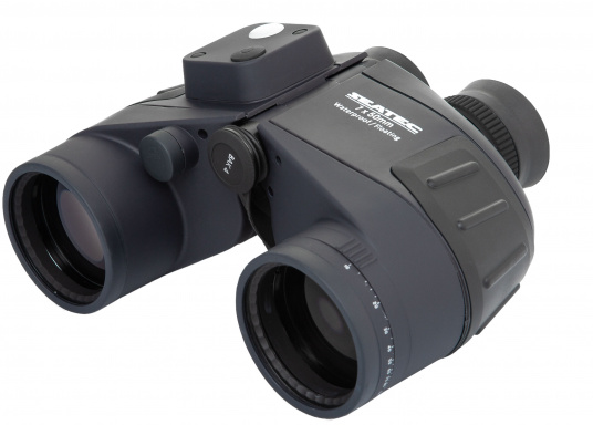 The SEATEC TARGET binoculars were specifically designed for maritime use on board.