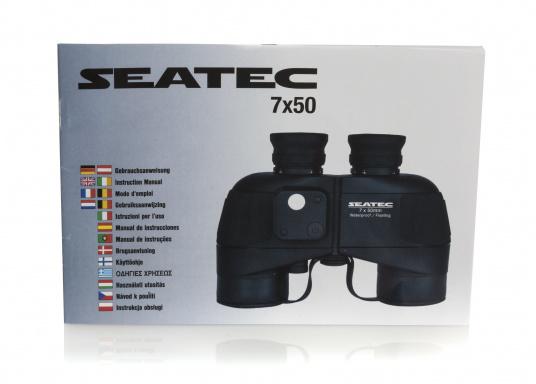 Das SEATEC TARGET-Fernglas mit digitalem Kompass ist speziell für den maritimen Einsatz an Bord entwickelt.  (Bild 11 von 11)