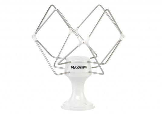 Ob an Land oder zu Wasser hat sich die OMNIMAX seit vielen Jahren bewährt. Die Antenne empfängt alle verfügbaren TV- und UKW-Signale.