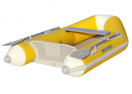 Das Set besteht aus dem SEATEC Schlauchboot NEMO 230 und dem Außenbordmotor Honda BF 2,3.  (Bild 2 von 17)