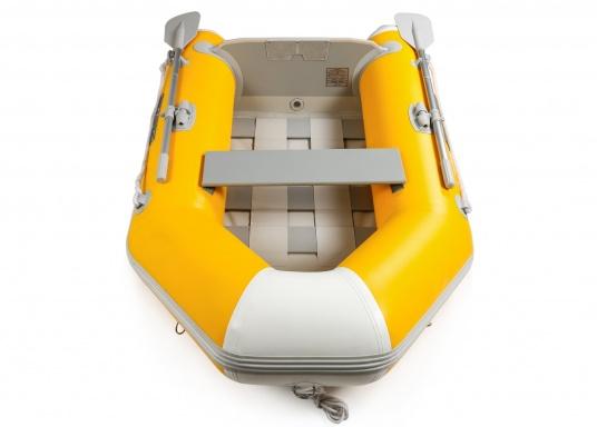 Das Set besteht aus dem SEATEC Schlauchboot NEMO 230 und dem Außenbordmotor Honda BF 2,3.  (Bild 6 von 17)