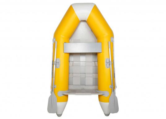 Das Set besteht aus dem SEATEC Schlauchboot NEMO 230 und dem Außenbordmotor Honda BF 2,3.  (Bild 3 von 17)