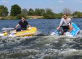 Inflatable Dinghy Set NEMO 230 + HONDA BF 2.3 / Yellow