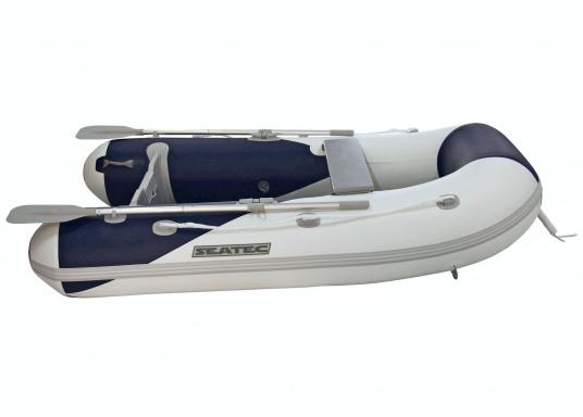 Das Set besteht aus dem SEATEC Schlauchboot YACHTING 225 und dem Außenbordmotor Honda BF 2,3.  (Bild 7 von 7)