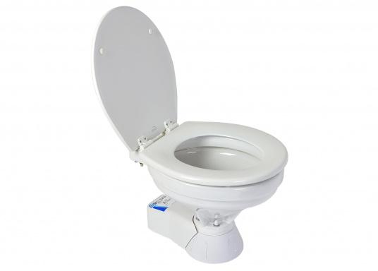 Ces WC marins QUIET FLUSH ont une chasse silencieuse, comme les toilettes domestiques. Un seul bouton pour deux niveaux de chasse (Image 2 de 4)