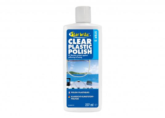 Stellt den Glanz und die Klarheit von Acryl-, Polycarbonat und vielen anderen Kunststoff wieder her. Einfach anzuwenden - auftragen und anschließend polieren, fertig.