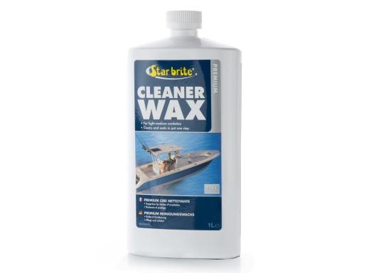 Premium Reiniger und Wachs - Die einfache Art um Kalk und Oxidation zu entfernen und gleichzeitig eine dauerhafte Schutzschicht zu hinterlassen. Mit PTEF.