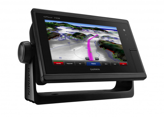Der GPSMAP 7408 wurde für Freizeitskipper, Segler und Regattasegler entwickelt, die hohe Leistung, Benutzerfreundlichkeit und integrierte Funktionen wünschen.  (Bild 5 von 10)