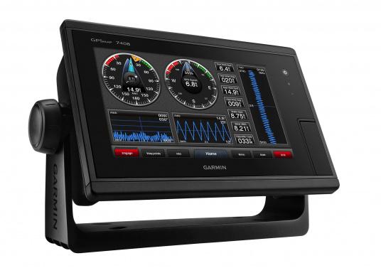 Der GPSMAP 7408 wurde für Freizeitskipper, Segler und Regattasegler entwickelt, die hohe Leistung, Benutzerfreundlichkeit und integrierte Funktionen wünschen.  (Bild 6 von 10)