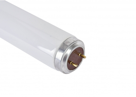 Fluorescent light with a 40 W output. Light color: cold-white. Length: 590 mm, including connections: 600 mm. (Image 2 of 2)