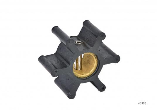 Wir bieten Ihnen hier ein umfangreiches Sortiment Ersatzimpeller für JOHNSON und JABSCO Impeller-Pumpen: Neopren-Impeller für Seewasserpumpen und Nitril-Impeller für Bilge- / Lenzpumpen, jeweils in verschiedenen Ausführungen. (Bild 2 von 5)