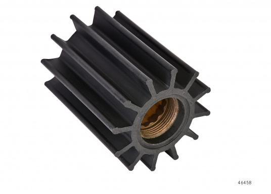 Wir bieten Ihnen hier ein umfangreiches Sortiment Ersatzimpeller für JOHNSON und JABSCO Impeller-Pumpen: Neopren-Impeller für Seewasserpumpen und Nitril-Impeller für Bilge- / Lenzpumpen, jeweils in verschiedenen Ausführungen. (Bild 11 von 18)