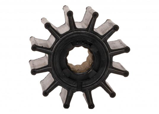 Wir bieten Ihnen hier ein umfangreiches Sortiment Ersatzimpeller für JOHNSON und JABSCO Impeller-Pumpen: Neopren-Impeller für Seewasserpumpen und Nitril-Impeller für Bilge- / Lenzpumpen, jeweils in verschiedenen Ausführungen. (Bild 17 von 18)