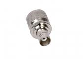 BNC Adapter, BNC-Socket to PL-(UHF)-Plug
