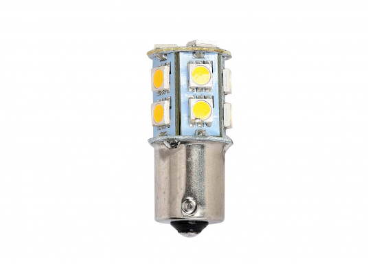 LED light insert with 13 bright diodes which provide a comfortable, warm-white light color.