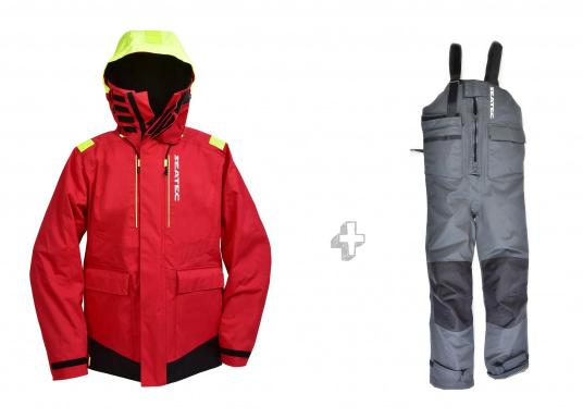 Highly functional, durable and comfortable weather and water sportswear, 100% water- and windproof and with outstanding breathability. Operational area: Ideal for offshore applications.