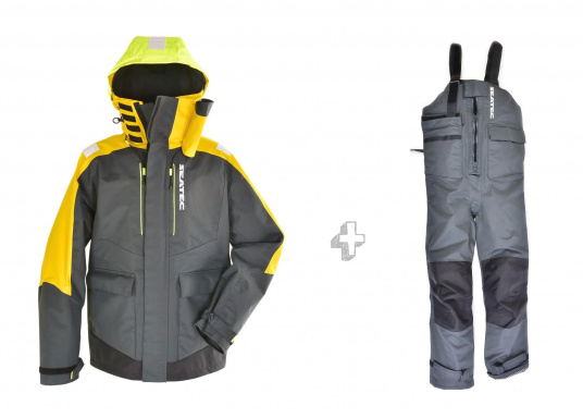 Highly functional, durable and comfortable weather and water sportswear, 100% water- and windproof and with outstanding breathability. Operational area: Ideal for offshore use.