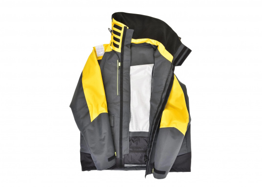 Highly functional, durable and comfortable weather and water sportswear, 100% water- and windproof and with outstanding breathability. Operational area: Ideal for offshore use. (Image 5 of 17)